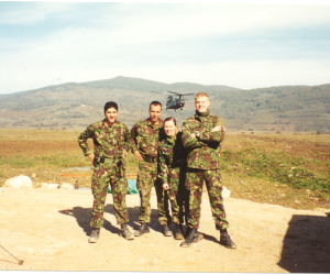Royal Army Medical Corps, Bosnia