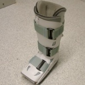 aircast boot flat foot surgery